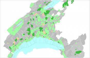 Un crédit pour soutenir les données géographiques du canton