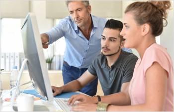 Soutien aux apprentis et aux entreprises formatrices