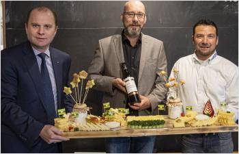 Le Conseil d'État a désigné son vin d'honneur et son fromage d'excellence pour 2020