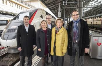 Développement de l'axe international à travers le Jura