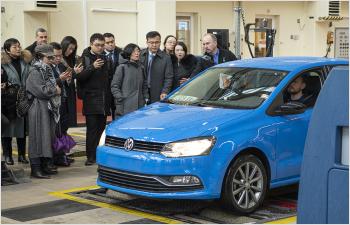 La Suisse inspire la Chine en matière  de sécurité routière