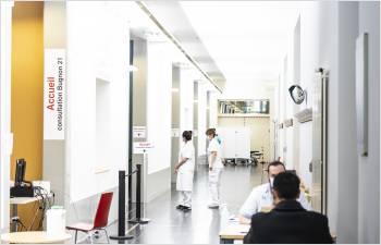 Soutien financier aux hôpitaux et aux institutions sanitaires