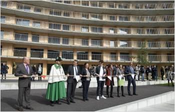 Inauguration officielle du Vortex, un village de 1000 habitants